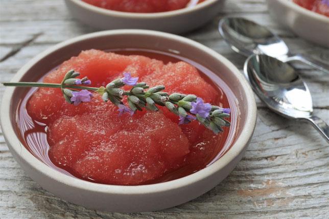 Melonensorbet