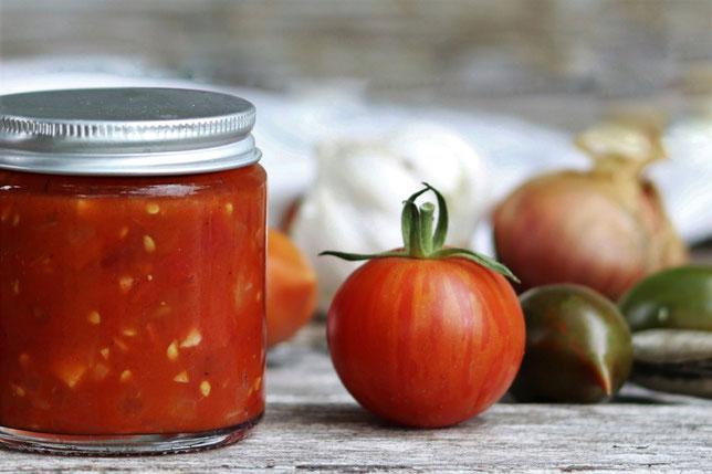 Tomatensalsa mit Tomaten