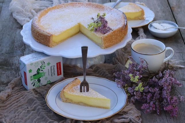 Frischkäsekuchen mit SalzburgMilch Frischkäse