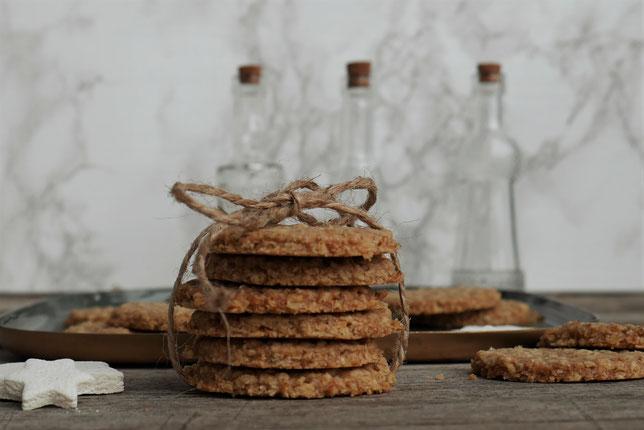 Haferflocken-Ingwer Kekse