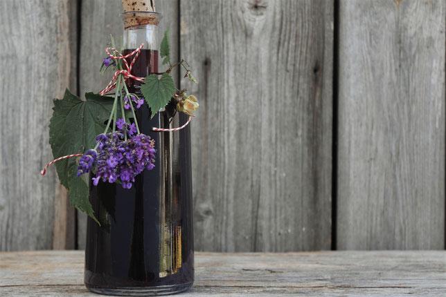 Schlafwein mit >Lavendel und Hopfen