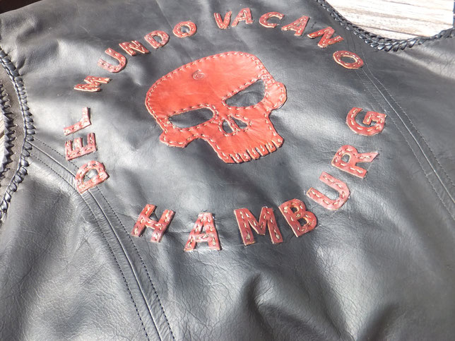 Lederweste Motorradweste Del Mundo Vacano Hamburg