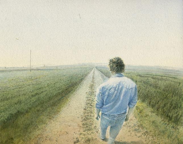 Der Weg (The Way) 25x30cm