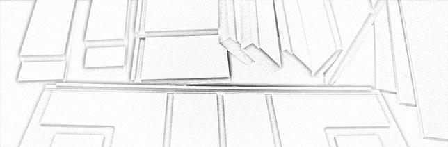 Optimieren der Raumakustik - Bausatz QRD Diffusor gefaltet