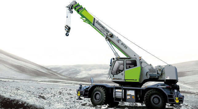 Zoomlion Mobile Crane RT35 PDF manuals