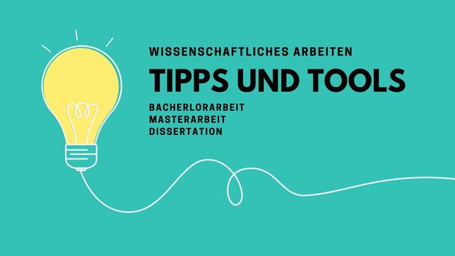 Glühbirne bezeichnet: Tipps und Tools Bachelorarbeit, Masterarbeit, Dissertation