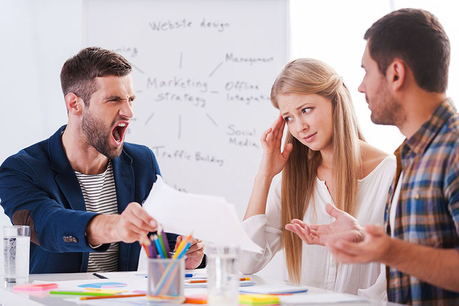 組織内部で価値観の葛藤が起こっている