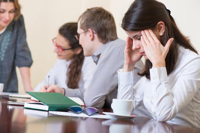 社内のコミュニケーションが悪く仕事の話以外しない