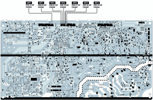 Funai TV circuit board diagrams, schematics, PDF service manuals