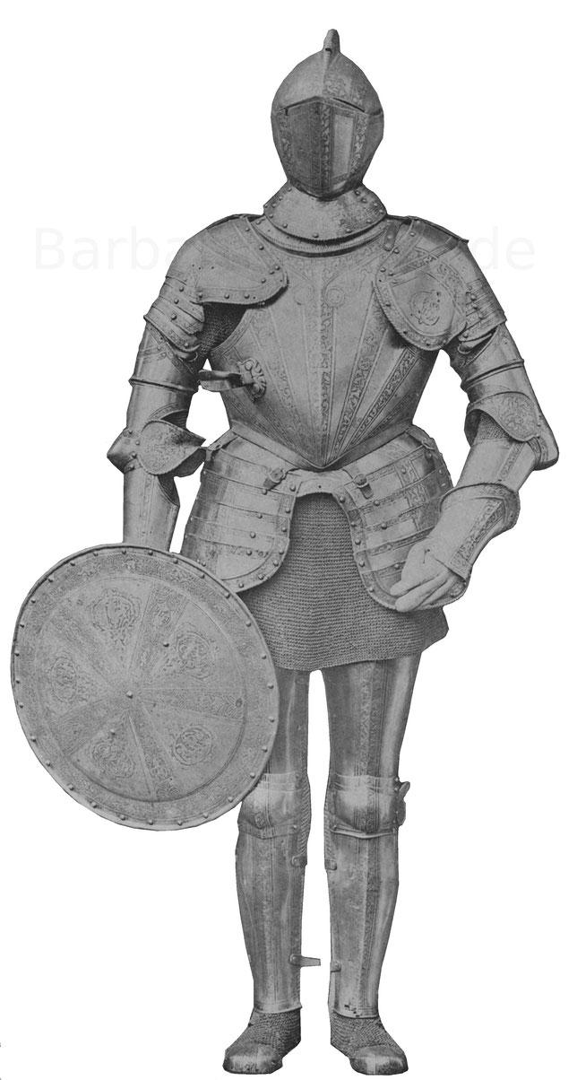 Prunkrüstung aus der Mitte des 16. Jahrhunderts