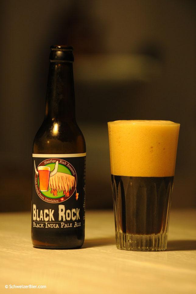 Haarige Kuh - Black Rock