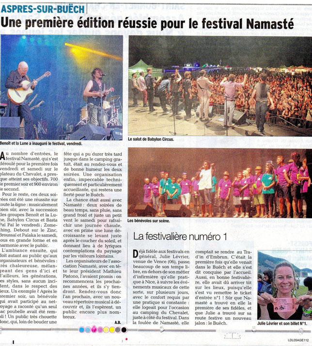 festival namasté musique à aspres sur buech camping du chevalet