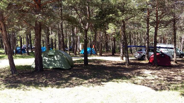 Notre camping entre Veynes et Serres