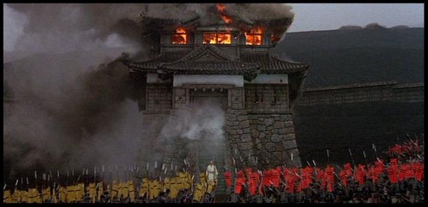 Ran, Akira Kurosawa. Molt del seu cine és una recreació esplèndida del Japó medieval.