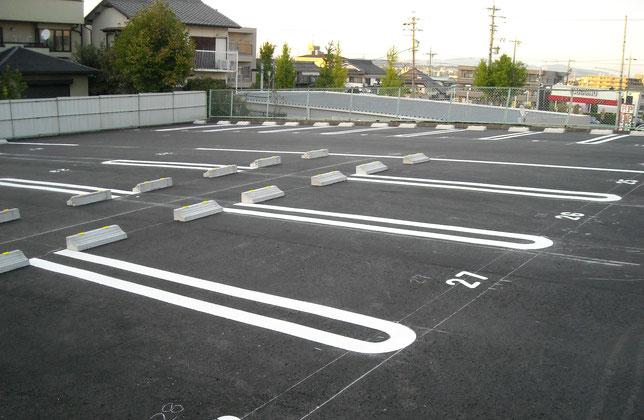 駐車場工事 施工後写真