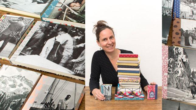 """die Designerin Stephanie Niesner, Inhaberin der """"bokx"""""""