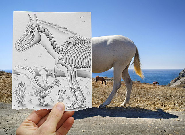 "Proyecto ""Pencil vs. Camera"" de Ben Heine"