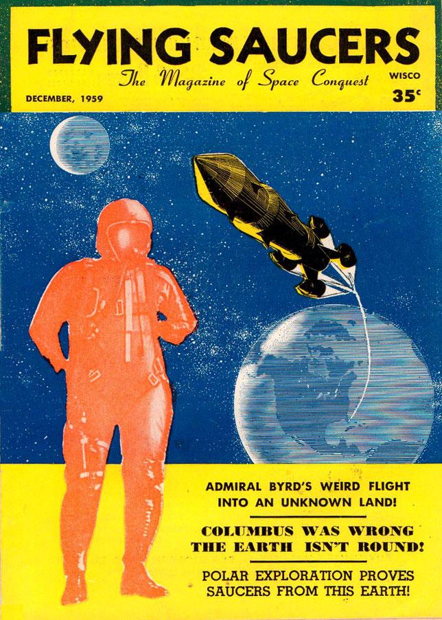 Flying Saucer December 1959