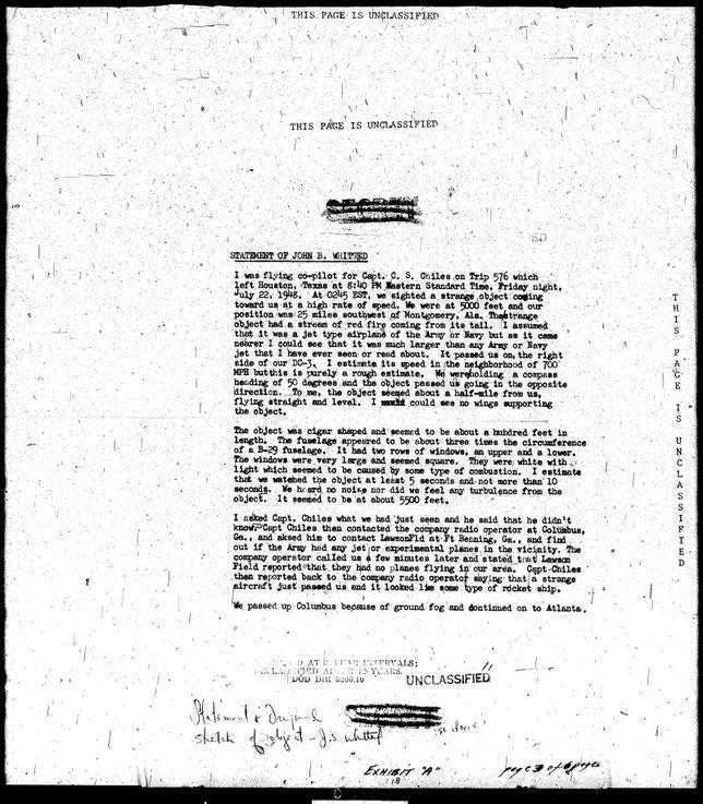 Dichiarazione del pilota John Whitted - MAXW-PBB4-33