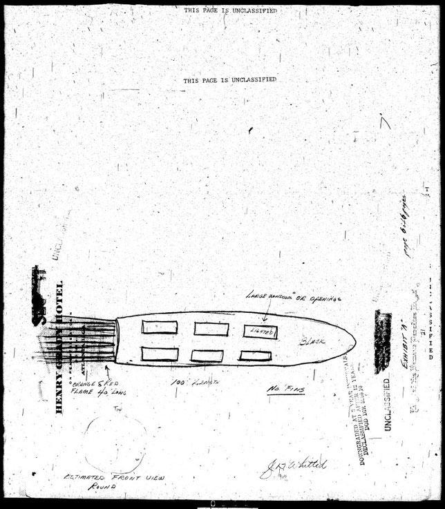 Schizzo dell'oggetto volante non identificato - MAXW-PBB4-36