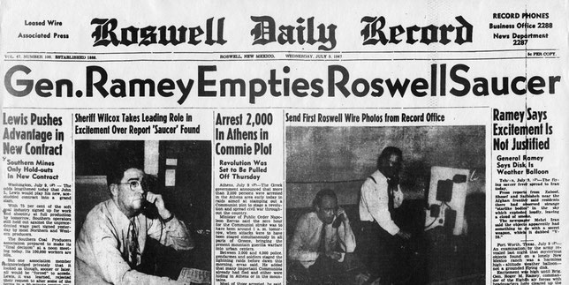 Roswell Daily Record - Wednesday 9 July 1947
