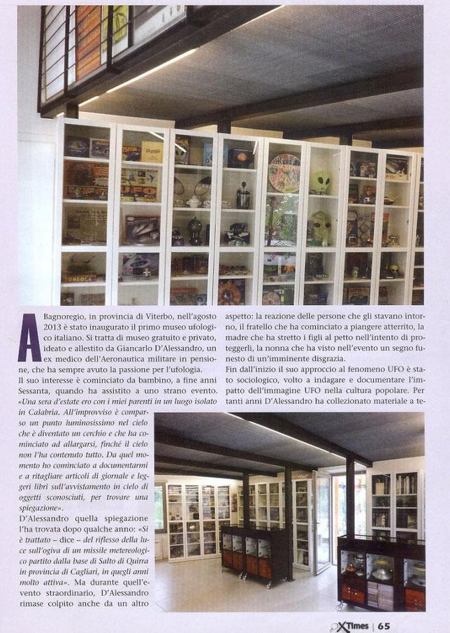 Ufo museum di Bagnoregio VT  - XTimes