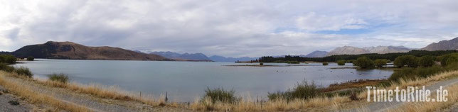 Neuseeland - Lake Tekapo - Motorrad - Reise