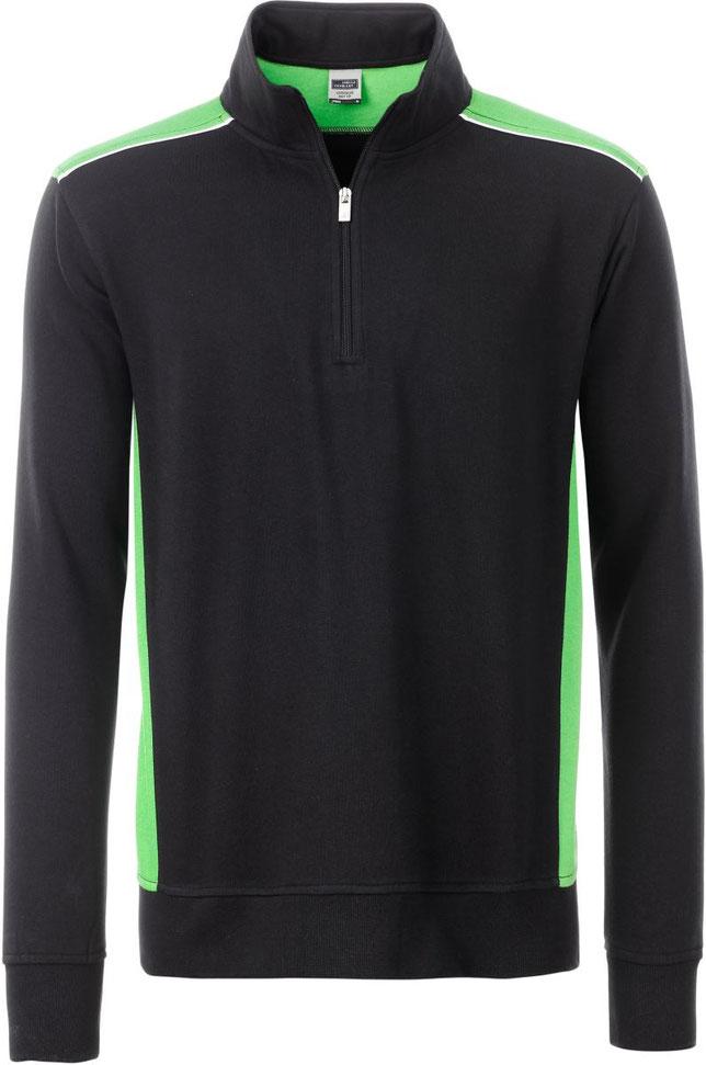 Sweater 1/2 Zip, bestickt, bedruckt, lassen in der Steiermark, 60° waschbar, trocknergeeignet, Hauseigene Stickerei, Hauseigene Näherei, Persönliche Beratung, Wir besticken fast alles, Logo Einstickung