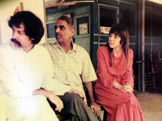 Rick, Eruch Jessawala & Ursula Reinhart. Meherazad, Jan.1979