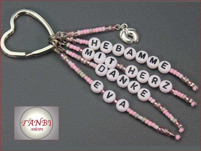 Hebamme-mit-Herz-Geschenk-danke-Abschied-Anhänger-Taschenanhänger-Geschenkanhänger