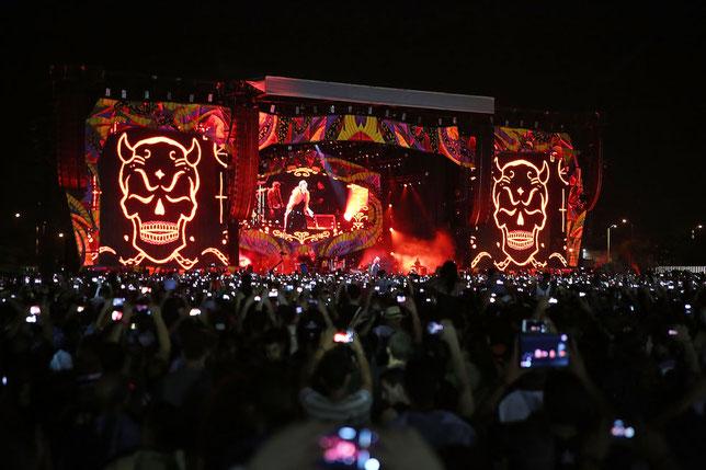 Un'immagine del concerto a L'Avana - 25 marzo 2015