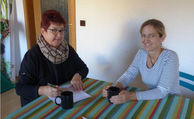 Annette Sperling im Interview mit Doris Dehmel