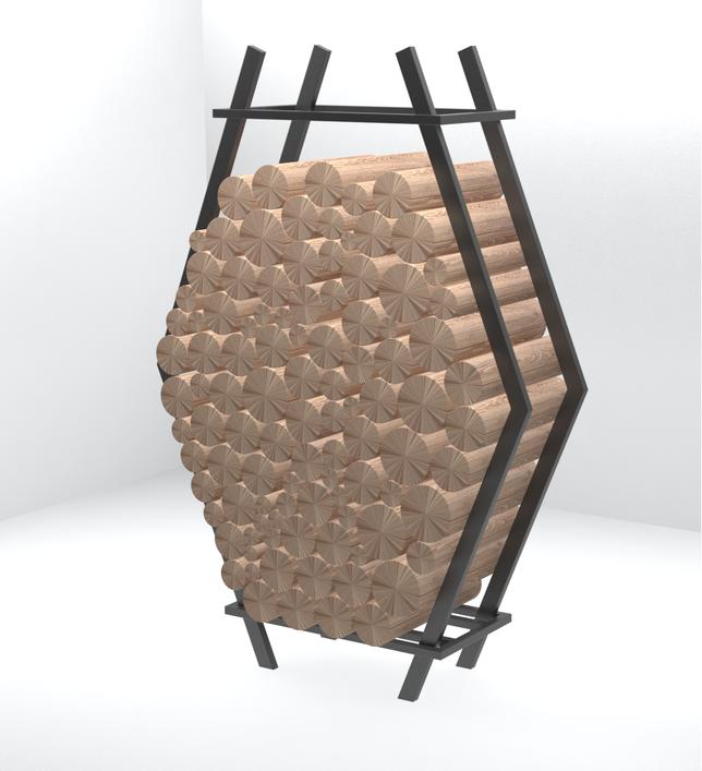 Дровница металлическая,дровница дизайнерская,поленница дизайнерская,поленница металлическая