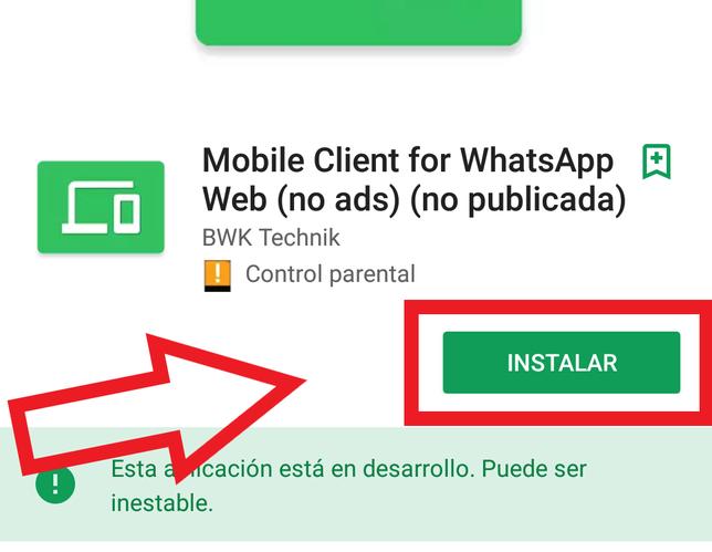 Cómo Usar WhatsApp Web En Android