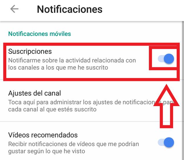 Cómo Desactivar Las Notificaciones De Youtube En Android