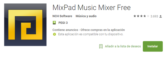 Editar Audio En Android Con MixPad Music Mixer Free