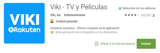 Viki - TV y Películas