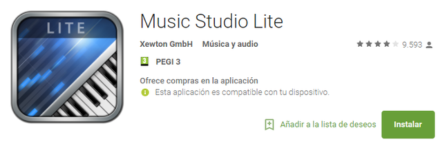 Editar Audio En Android Con Music Studio Lite