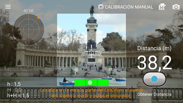 Telémetro - Cómo medir distancias con tu Android