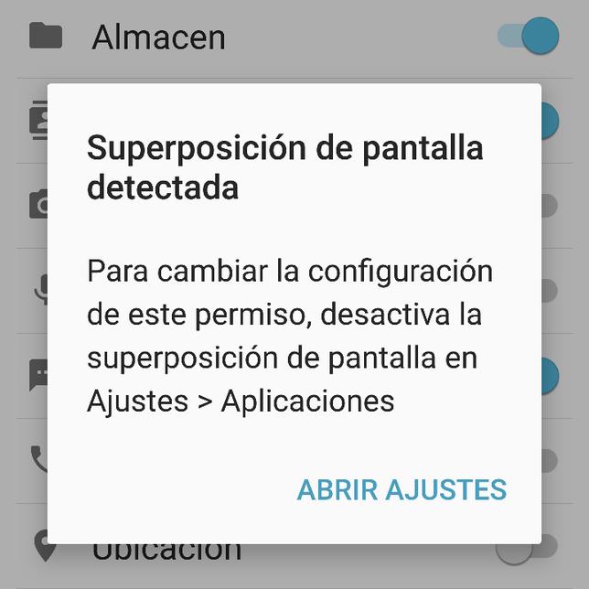 Cómo Solucionar Superposición De Pantalla Detectada