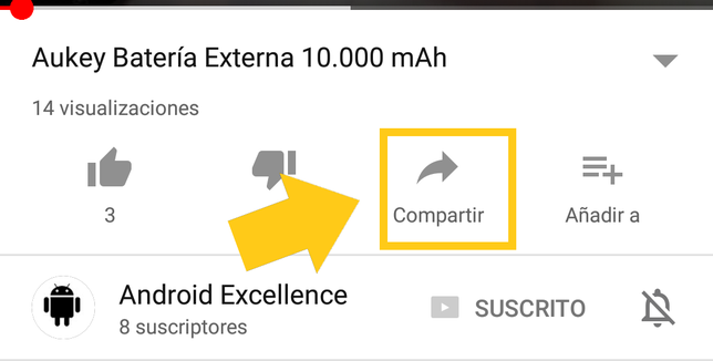 Cómo Compartir Vídeos De Youtube En WhatsApp Android