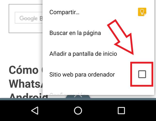 Cómo Activar La Vista De Escritorio En Chrome Android