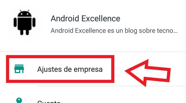 Cómo Añadir Un Enlace Al Perfil De WhatsApp Business En Android