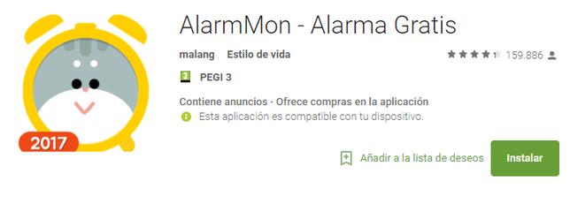 AlarmMon - Alarma Gratis