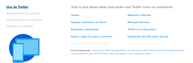 FAQ Oficial de Twitter
