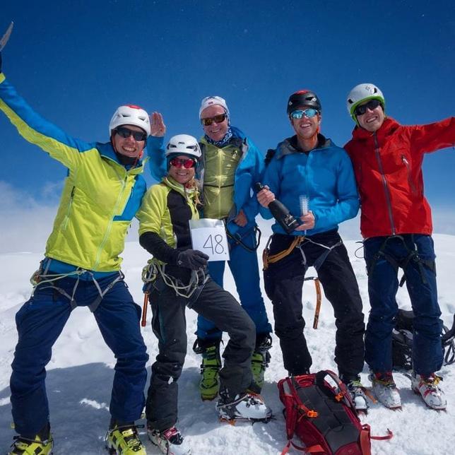 Aletschhorn, Südwestrippe, Routenverlauf, Routenübersicht, Skitour, Skihochtour, Blatten, Belalp, Oberaletsch, Zustieg Oberaletschhütte im Winter, Wallis