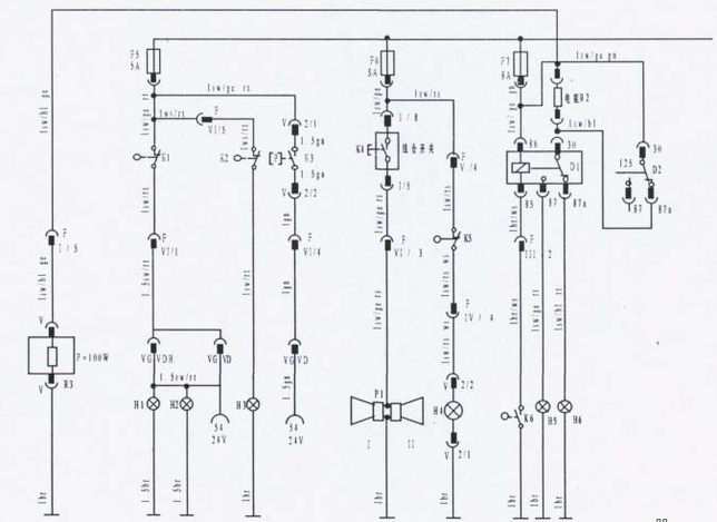 beifang benchi electrical wiring diagram