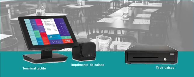 Caisse enregistreuse tactile pour restaurant