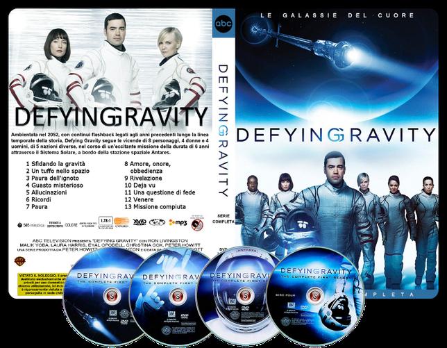 Defying Gravity  Copertina DVD + CD