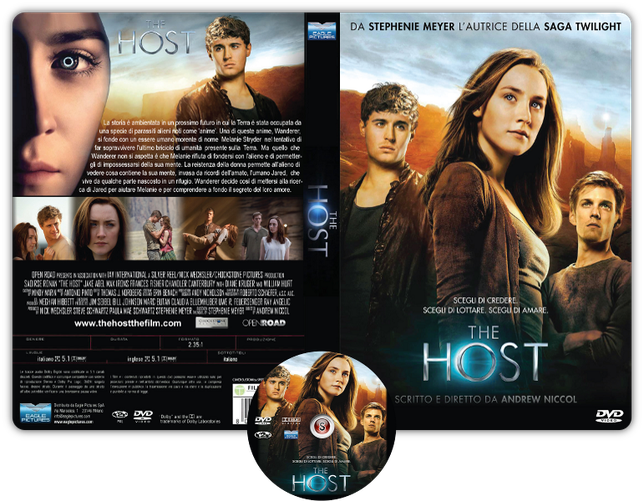 The host Copertina DVD